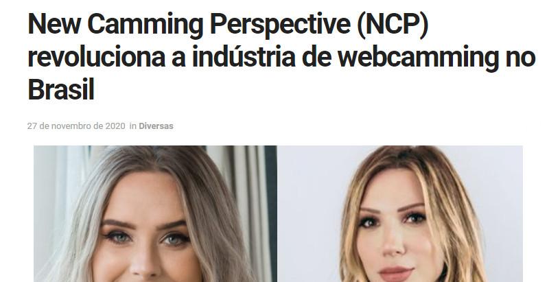 NCP revoluciona a Indústria de Webcamming no Brasil
