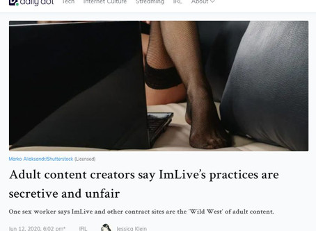 Behind the Scenes: secretive and unfair practices in camming business