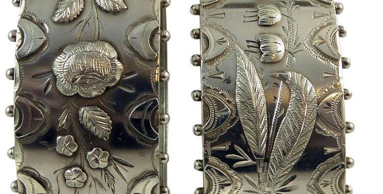 Victorian Silver Bangle, Boxed, Hallmarked Birmingham, 1885
