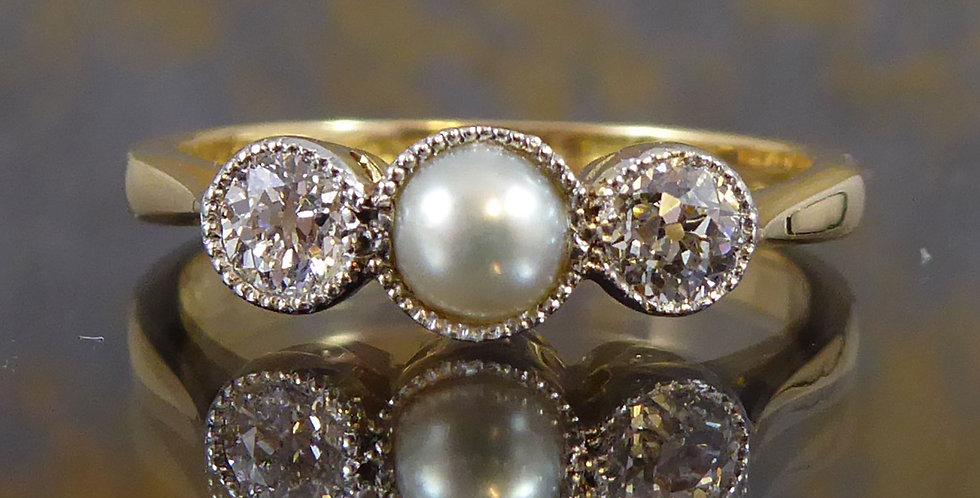 Art Deco engagement ring, nicholsons