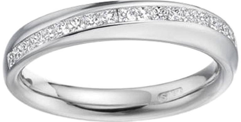 Princess Cut Diamond Wedding or Eternity Ring