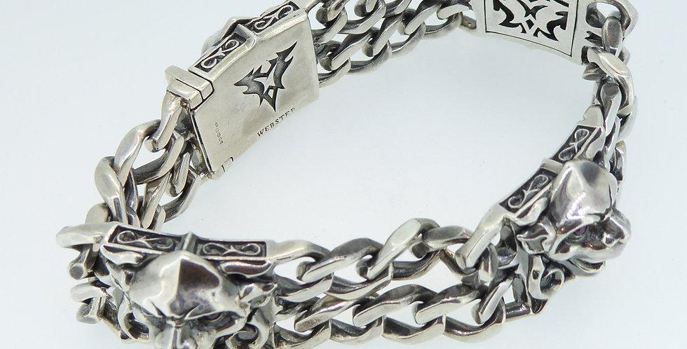 Stephen Webster London Calling Silver Bracelet