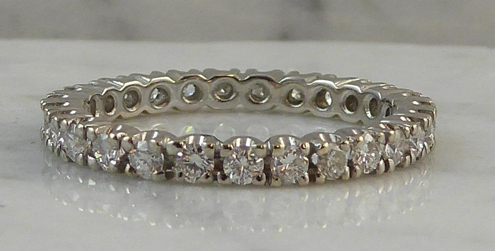 27 Stone Diamond Eternity Ring, 0.75ct
