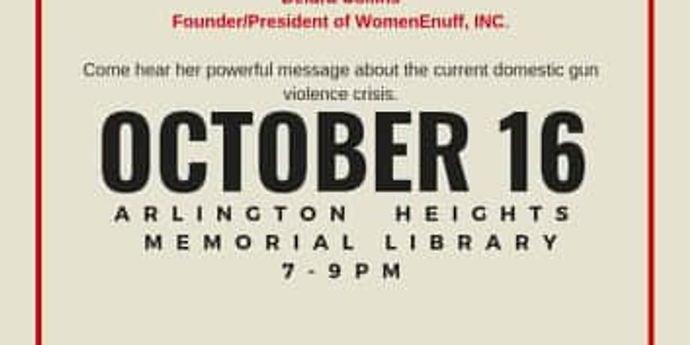 Moms Demand Action (Arlington Heights) - Speaking Engagement