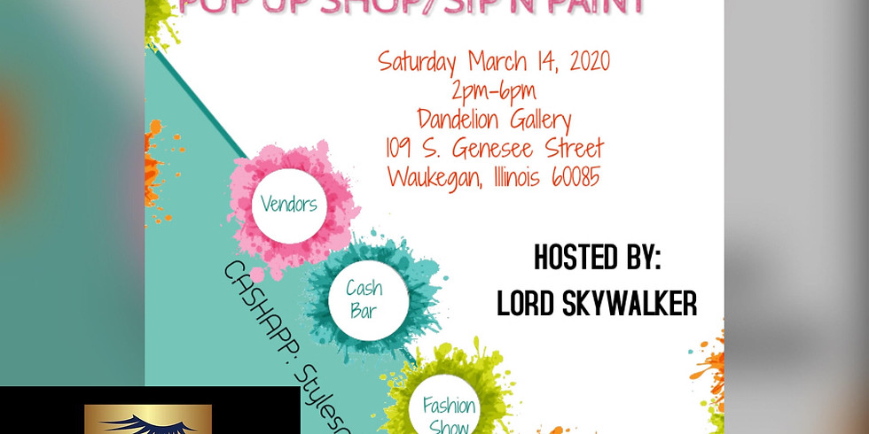 Fall Into Spring Pop Up Shop / Sip N Paint