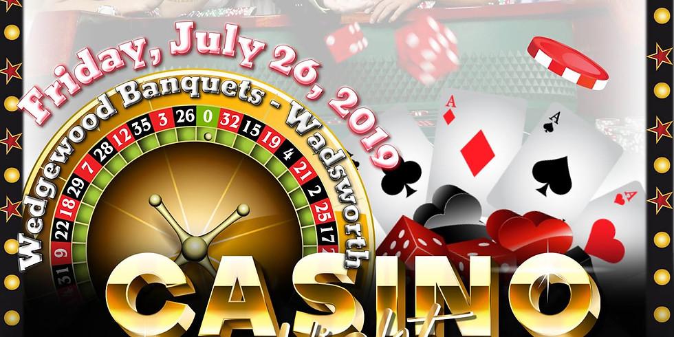 Women Enuff, Inc's 10-Year Anniversary Casino Fundraiser