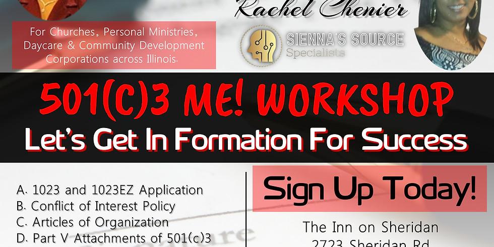 501(c)3 ME! Workshop