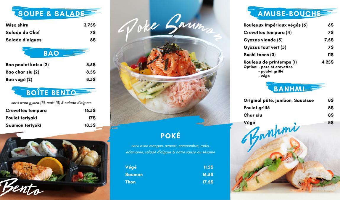 Mikado Go Laval bento poke banhmi menu.j
