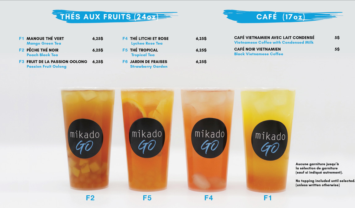 Mikado Go Laval fruit bubble tea menu.jp