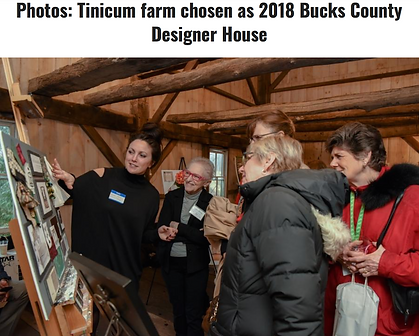 Tinicum Farm chosen as 2018 Bucks County Designer House