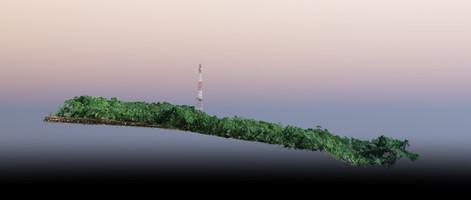 Vue de coupe d'antenne