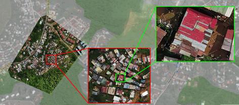 Zoom sur carthographie par drone