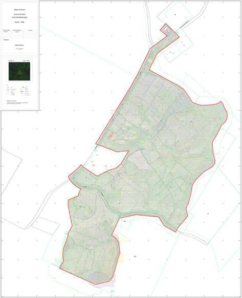 Plan topographique