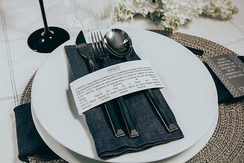 invitaciones de boda tinta blanca, invitaciones de boda geométricas, invitaciones de boda tonos grises, minutas originales