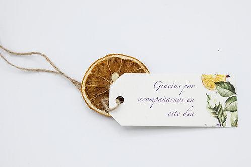 invitaciones con lavandas, invitaciones tela de saco, invitaciones de boda naranjas, tarjeta agradecimiento boda