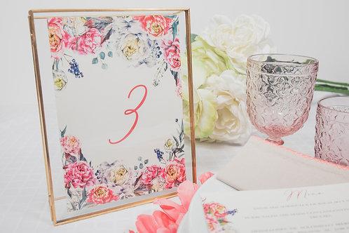 invitaciones de boda peonias, invitaciones papel vegetal, invitaciones papel cebolla, meseros de boda