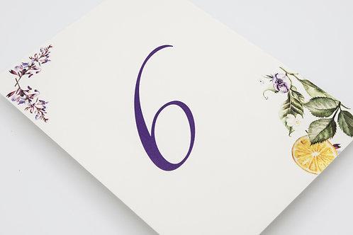 invitaciones con lavandas, invitaciones tela de saco, invitaciones de boda naranjas, mesero de boda