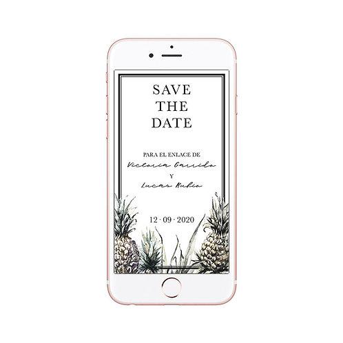 Save the Date digital Costa Rica