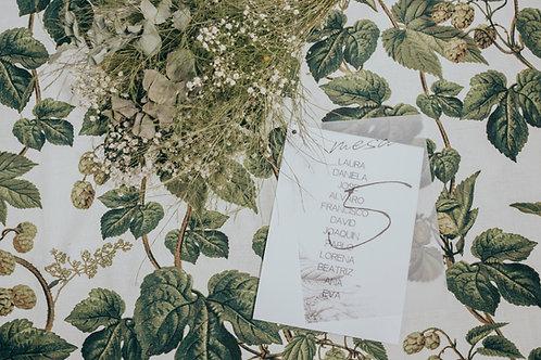 invitaciones de boda de papel vegetal, invitaciones de papel cebolla, seating plan originales, invitaciones elegantes