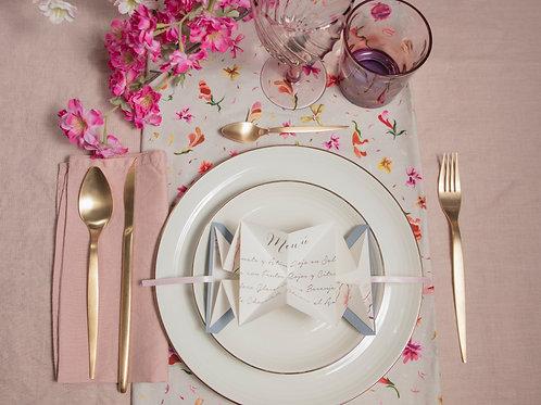 invitaciones de boda cerezo, invitaciones flor de cerezo, invitaciones de boda rosa, minutas de boda originales