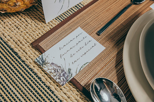 Tarjeta de agradecimiento Costa Rica