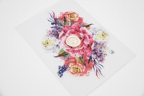 invitaciones de boda peonias, invitaciones papel vegetal, invitaciones papel cebolla, invitaciones de boda rosa