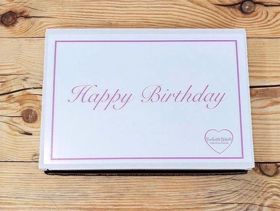 Birthday Box w/6 Original Cakepops