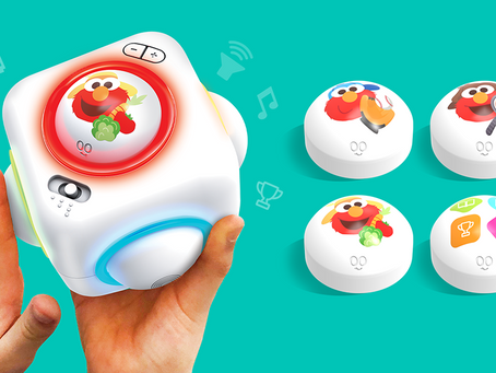 Play Sesame Street Songs and Games with the Skoog Cube