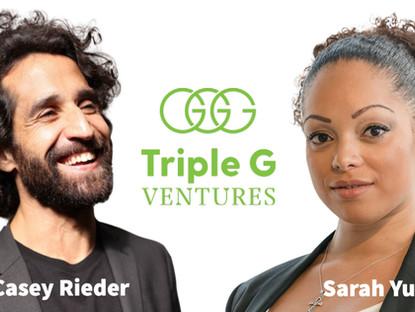 TRIPLE G VENTURES GOES GLOBAL