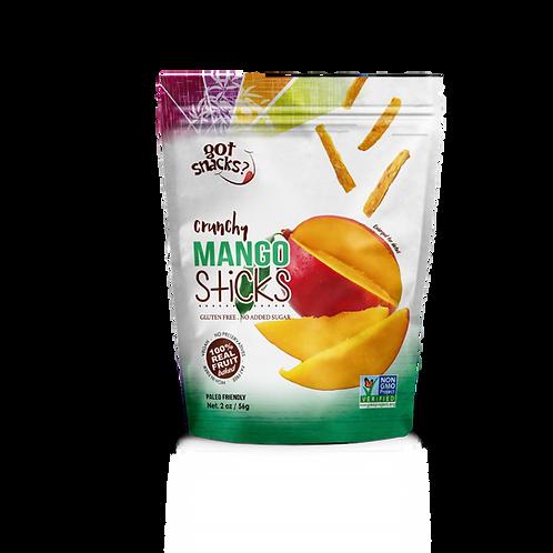 Crunchy Mango Sticks 56g. (a pack of 6)