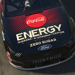 Coke Energy Cup Ford Mustang