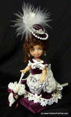 kelly-ooak-maroon-doll
