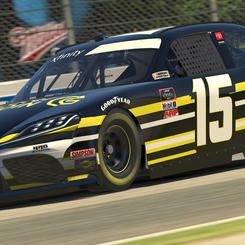 Sim Racer Coin Xfinity Toyota Supra