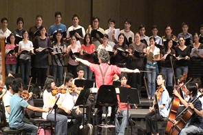"Rehearsal ""Jenkin's Requiem"""