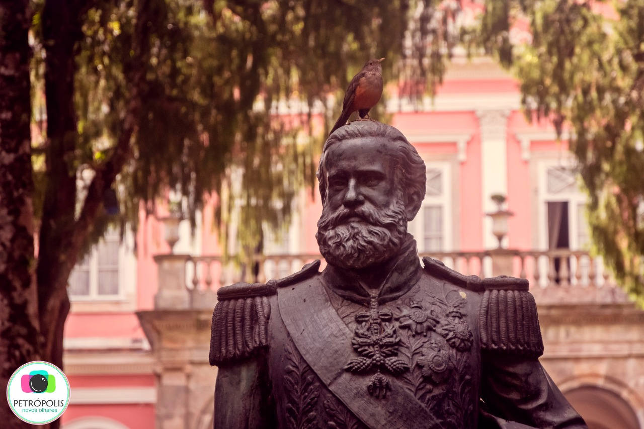 Estátua de D. Pedro II
