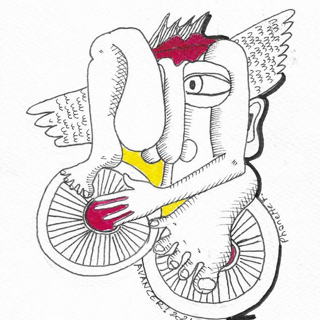 Evasion à vélo ailé