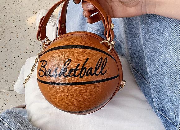 New Design Soccer & basketballs Shape Purse Fashion Women Chains Handbag