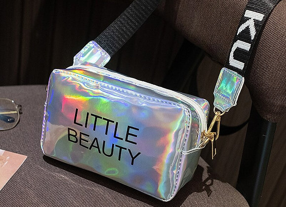Little Beauty Cross body Bag Jelly Candy Color Laser purse