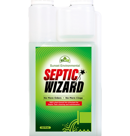 Septic Wizard- 1 year supply