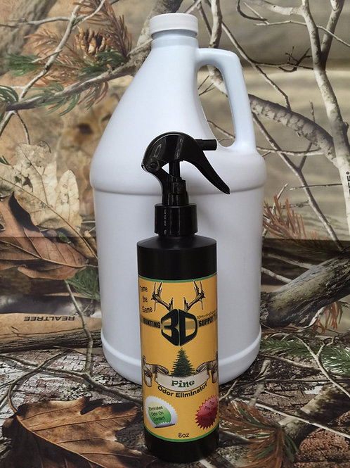 Pine Scent Gallon and 8 oz. spray bottle
