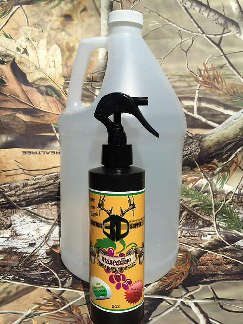 Muscadine Gallon and 8 oz. spray bottle