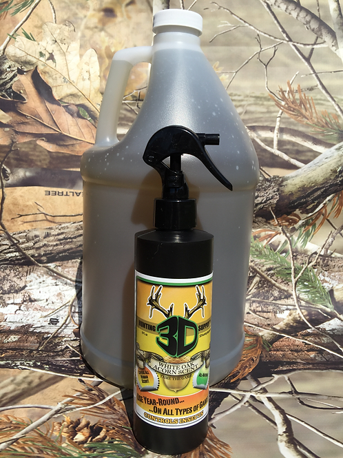 White Oak Acorn Gallon and 8 oz. spray bottle