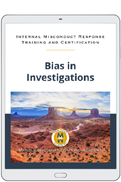 Bias in Investigations