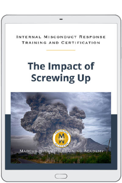 The Impact of Screwing Up