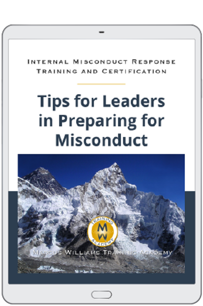 Tips for Leaders in Preparing for Misconduct