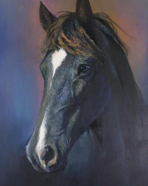 "Oil on canvas 24""x32"""