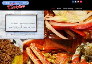 Haitian American Cuisine Website.PNG