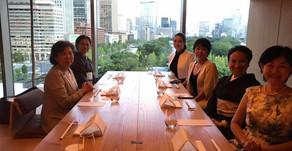 第59回経営者女子会イベント「アート&交流会@パレスホテル東京」レポート