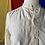 Thumbnail: 1910s ivory silk button down // medium