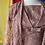 Thumbnail: 60s dusty brown lace 2 pc dress + coat // sz 14